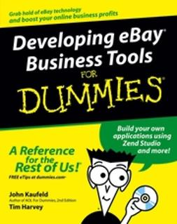 Harvey, Tim - Developing eBay Business Tools For Dummies, ebook