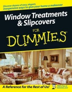 Montano, Mark - Window Treatments & Slipcovers For Dummies, ebook
