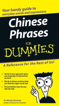 Abraham, Wendy - Chinese Phrases For Dummies, ebook
