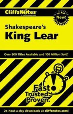 Metzger, Sheri - CliffsNotes on Shakespeare's King Lear, e-bok