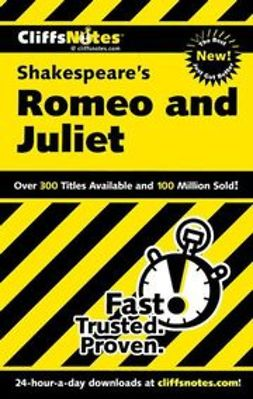 Connolly, Annaliese F. - CliffsNotes on Shakespeare's Romeo and Juliet, ebook