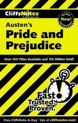 Kalil, Marie - CliffsNotes on Austen's Pride and Prejudice, ebook