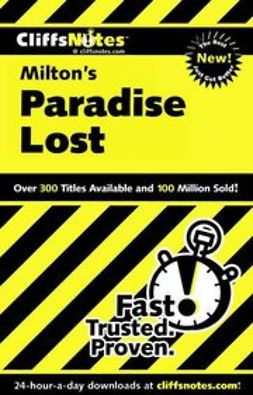 Linn, Bob - CliffsNotes<sup><small>TM</small></sup> on Milton's Paradise Lost, ebook