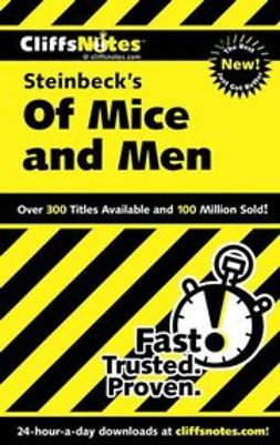 Kirk, Susan Van - CliffsNotes on Steinbeck's Of Mice and Men, ebook