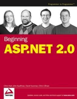 Hart, Chris - Beginning ASP.NET 2.0, ebook