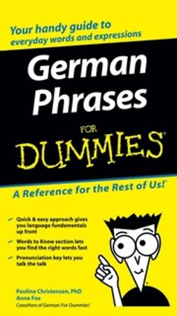 Christensen, Paulina - German Phrases For Dummies, e-kirja