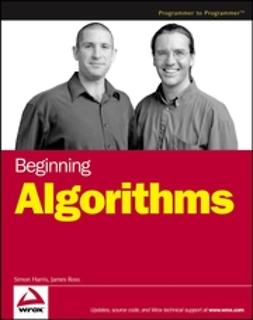 Harris, Simon - Beginning Algorithms, ebook