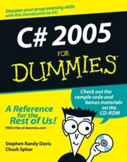 Davis, Stephen Randy - C# 2005 For Dummies, ebook