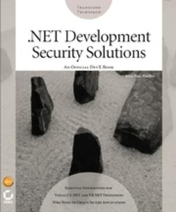 Mueller, John Paul - .NET Development Security Solutions, e-kirja
