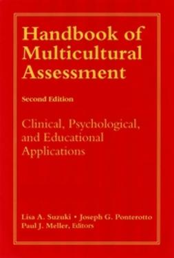 Meller, Paul J. - Handbook of Multicultural Assessment: Clinical, Psychological, and Educational Applications, e-kirja