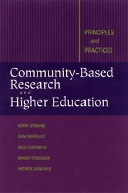 Cutforth, Nicholas - Community-Based Research and Higher Education: Principles and Practices, ebook