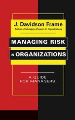 Frame, J. Davidson - Managing Risk in Organizations: A Guide for Managers, ebook