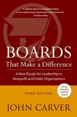 Carver, John - Boards That Make a Difference, ebook