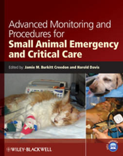 Creedon, Jamie M. Burkitt - Advanced Monitoring and Procedures for Small Animal Emergency and Critical Care, e-bok