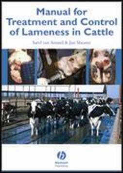 Amstel, Sarel van - Manual for Treatment and Control of Lameness in Cattle, ebook