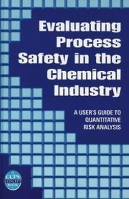 Arendt, J. S. - Evaluating Process Safety in the Chemical Industry: A User's Guide to Quantitative Risk Analysis, e-kirja