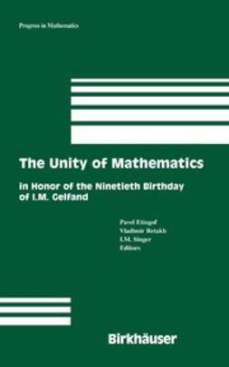 Etingof, Pavel - The Unity of Mathematics, e-bok