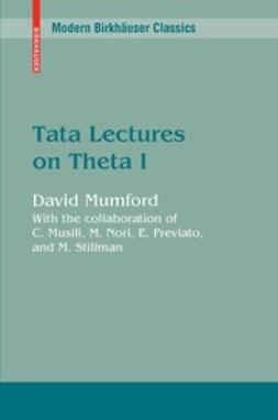 Mumford, David - Tata Lectures on Theta I, ebook