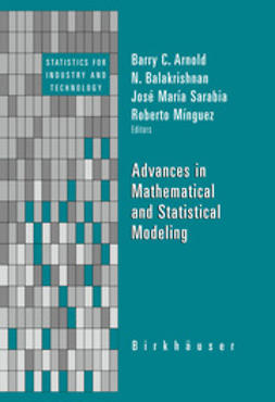 Minguez, Roberto - Advances in Mathematical and Statistical Modeling, e-bok