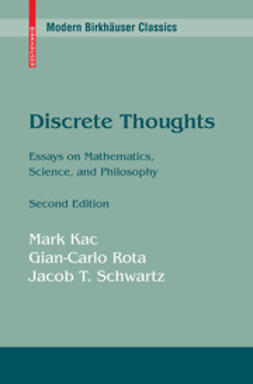 Kac, Mark - Discrete Thoughts, ebook