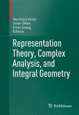 Krötz, Bernhard - Representation Theory, Complex Analysis, and Integral Geometry, e-kirja