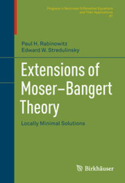 Rabinowitz, Paul H. - Extensions of Moser–Bangert Theory, ebook