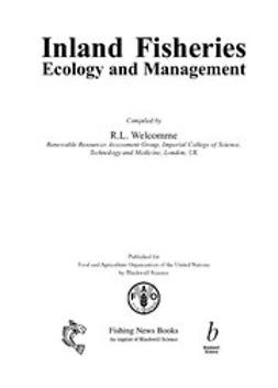 Welcomme, Robin - Inland Fisheries: Ecology and Management, ebook