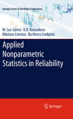Gámiz, M. Luz - Applied Nonparametric Statistics in Reliability, e-bok