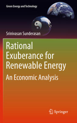 Sunderasan, Srinivasan - Rational Exuberance for Renewable Energy, e-kirja