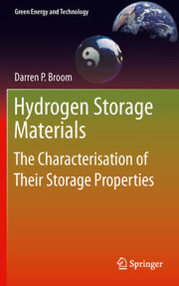 Broom, Darren P. - Hydrogen Storage Materials, e-bok