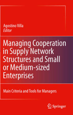 Villa, Agostino - Managing Cooperation in Supply Network Structures and Small or Medium-sized Enterprises, ebook
