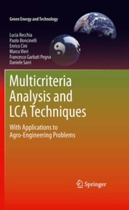 Recchia, Lucia - Multicriteria Analysis and LCA Techniques, ebook