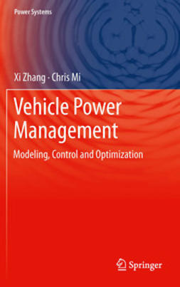 Zhang, Xi - Vehicle Power Management, e-bok