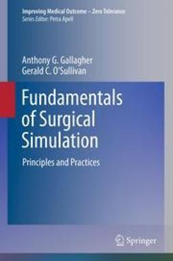 Gallagher, Anthony G. - Fundamentals of Surgical Simulation, ebook