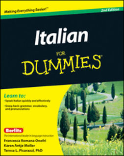 UNKNOWN - Italian For Dummies, e-kirja