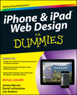 Warner, Janine - iPhone and iPad Web Design For Dummies, ebook