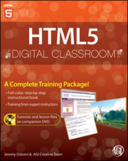 Osborn, Jeremy - HTML5 Digital Classroom, e-kirja