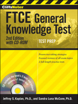 Kaplan, Jeffrey S. - CliffsNotes FTCE General Knowledge Test, ebook