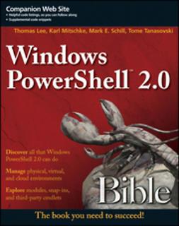 Lee, Thomas - Windows PowerShell 2.0 Bible, ebook