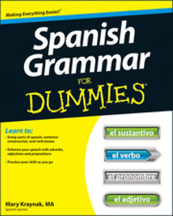 Kraynak, Cecie - Spanish Grammar For Dummies, e-kirja