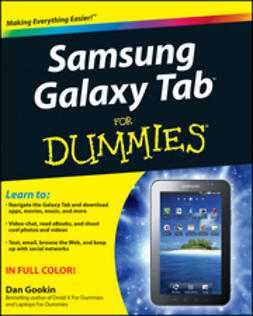 Gookin, Dan - Samsung Galaxy Tab<sup><small>TM</small></sup> For Dummies<sup>®</sup>, ebook