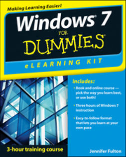 Fulton, Jennifer - Windows 7 eLearning Kit For Dummies, ebook