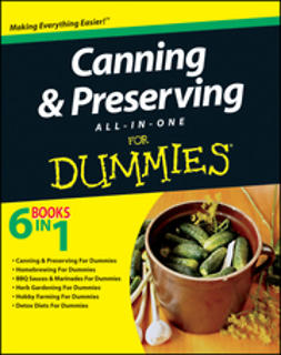 UNKNOWN - Canning and Preserving All-in-One For Dummies, ebook