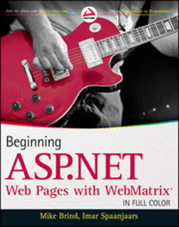 Brind, Mike - Beginning ASP.NET Web Pages with WebMatrix, ebook