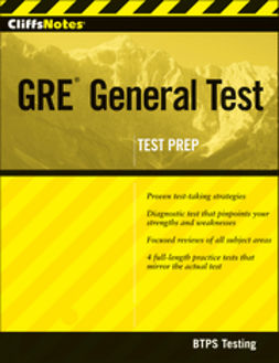 UNKNOWN - CliffsNotes GRE General Test, ebook