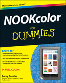 Sandler, Corey - NOOKcolor For Dummies, ebook