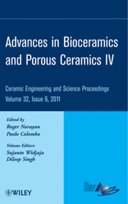 Colombo, Paolo - Advances in Bioceramics and Porous Ceramics IV: Ceramic Engineering and Science Proceedings, ebook