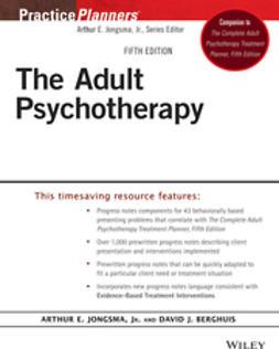 Berghuis, David J. - The Adult Psychotherapy Progress Notes Planner, ebook