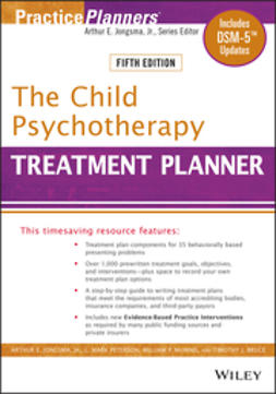 Bruce, Timothy J. - The Child Psychotherapy Treatment Planner, ebook