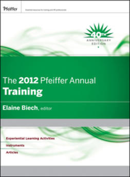 Biech, Elaine - The 2012 Pfeiffer Annual: Training, ebook